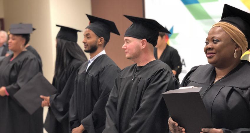 Graduation at Takoda Institute