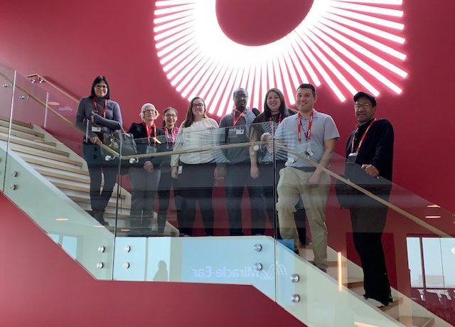 Digital Office Professional Students Visit Amplifon HQ