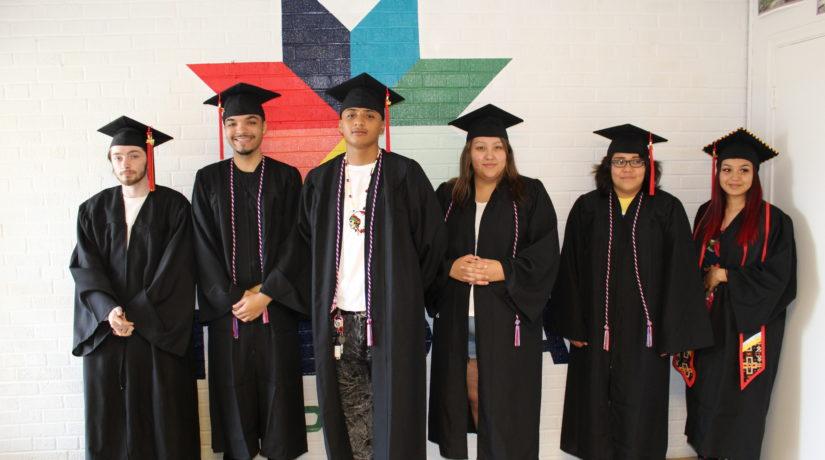 Students Graduate from Takoda Prep