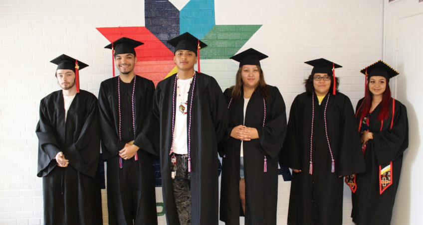 Students Graduate from Takoda Prep