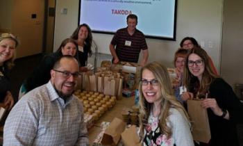 Wells Fargo Donates Healthy Snacks for Takoda Clients
